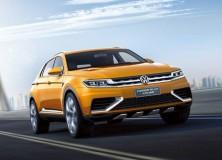 VW predstavil CrossBlue Coupe koncept 2013 že pred avtosalonom Šanghaj