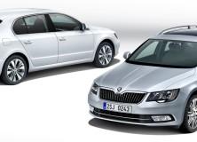 Nova modificirana Škoda Superb 2013