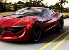 Alfa Romeo izdeluje 6C coupeja in limuzino