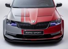 Škoda Rapid Sport – nove uradne slike