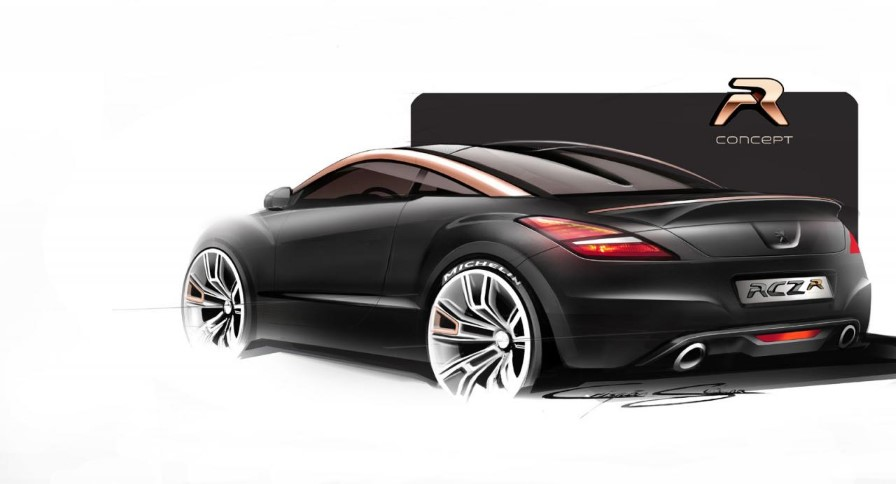 peugeot rcz r najmo nej i serijski peugeot. Black Bedroom Furniture Sets. Home Design Ideas