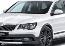 Nova Škoda Superb Combi Outdoor 2014