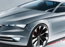 Škoda Vision C koncept 2014
