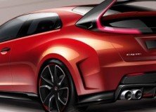 Honda Civic Type R koncept 2014