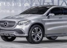 Mercedes Coupe SUV koncept dokončno predstavljen