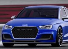 Audi A3 Clubsport Quattro koncept 2014