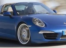 Nova Porsche 911 Targa 4 in Targa 4S